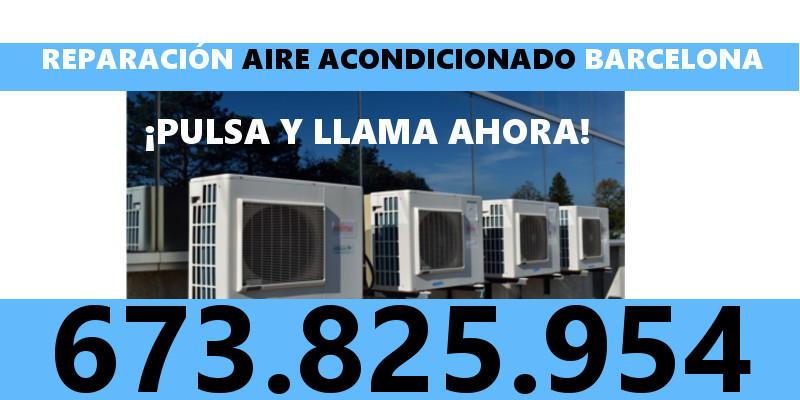 reparacion aire acondicionado Calle Sant Carles